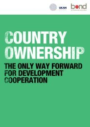 Country Ownership - Bond