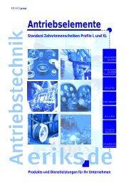 Standard-Zahnriemenscheiben-Profile-L-und-XL - ERIKS