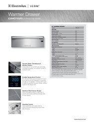 Product Specifications - US Appliance