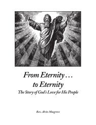 From Eternity to Eternity - Our Savior Lutheran Church