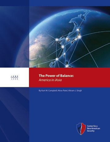 The Power of Balance: America in iAsia