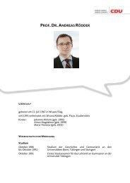 Prof. Dr. Andreas Rödder