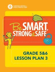 GRADE 5&6 LESSON PLAN 3 - Kids in the Know