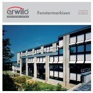 Fenstermarkisen - Markus Hammer Sonnenschutztechnik
