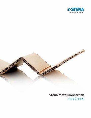 Arsredovisning 0809 (.pdf) - The Stena Metall Group