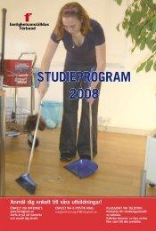STUDIEPROGRAM 2008 - Fastighetsanställdas Förbund