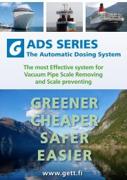 1) Automatic Dosing System
