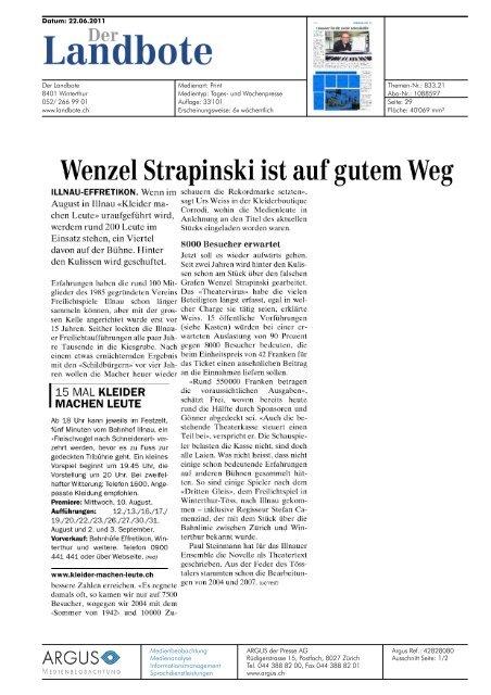 """""""Der Landbote"""" vom 22. Juni 2011 (pdf, 393 kB) - Verein ..."""
