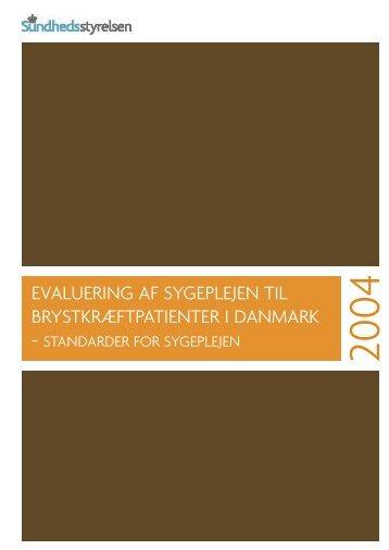 Evaluering af sygeplejen til brystkræftpatienter i Danmark