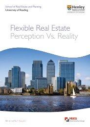 Flexible Real Estate Perception Vs. Reality - MWB Business Exchange