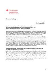Pressemitteilung 31. August 2011 Saisonstart der Eissporthalle in ...