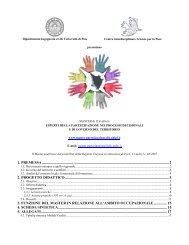 Documento completo - Master di II livello in Esperti della ...