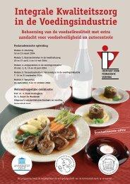 Integrale Kwaliteitszorg in de Voedingsindustrie - IVPV - Instituut ...