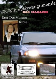 Ausgabe 6 - August 2009 - hondaoldies.de