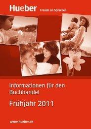 Frühjahr 2011 - Hueber