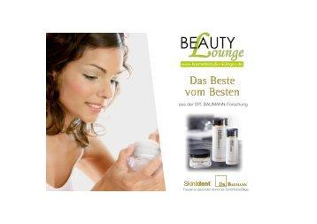 "Flyer ""BeautyLounge und DR.BAUMANN COSMETIC"""