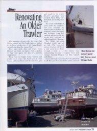 Renovating an Older Trawler - Mv Dreamer