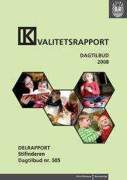 VALITETSRAPPORT - Aarhus.dk