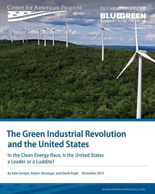 Green-Industrial-Revolution-report