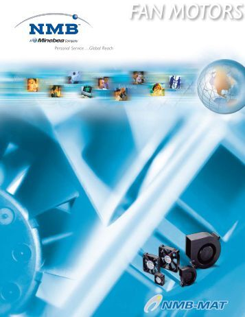 Fans and Blowers Catalog - NMB Technologies Corporation