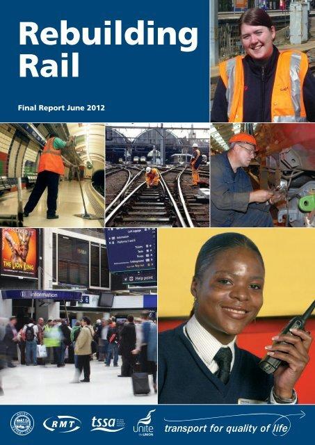 Rebuilding rail report