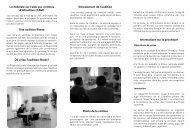 Brochure - Police cantonale Fribourg