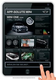 App-solute mini - STADAC Automobilges. mbH & Co