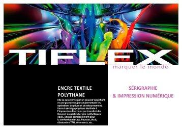 Télécharger notre fiche produit (PDF, 398 Ko) - Tiflex