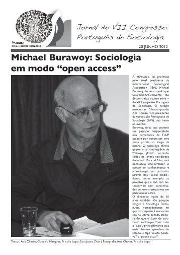 """Sociologia em modo """"open access"""" - Associação Portuguesa de ..."""