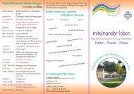 Flyer der Kindertagesstätte zum Download - Weilmünster