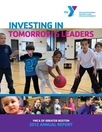 2012 Annual Report - YMCA of Greater Boston