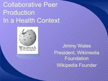 In A Health Context