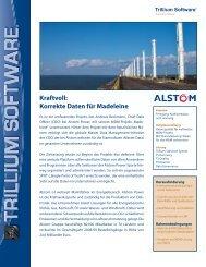 Kraftvoll: Korrekte Daten für Madeleine - Trillium Software