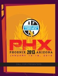 Phoenix - American Probation and Parole Association