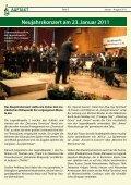 Fotogalerie Januar – August 2011 - Stadtkapelle Burladingen eV - Seite 2