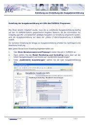 Anleitung zur Erstellung der Ausgabenerklärung - ECG GmbH Berlin