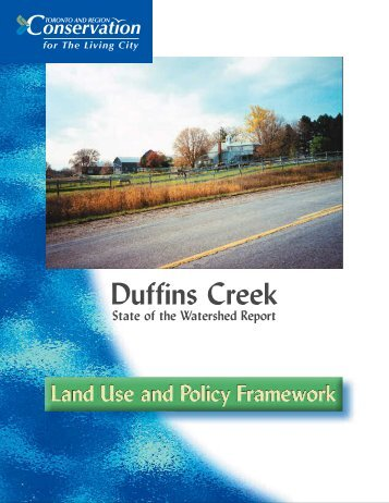 Land Use - Toronto and Region Conservation Authority