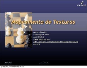 Texturas - Unisinos