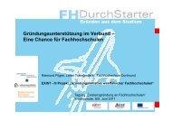 FH Dortmund - FH Durchstarter