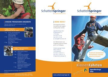 Jugendherberge Uslar - Schattenspringer