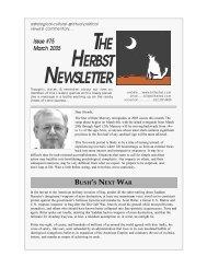 Bush's Next War - Bill Herbst, astrologer