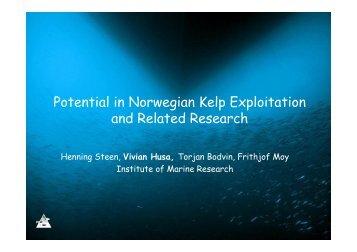 2-Kelp exploitation-IMR-Steen & Husa