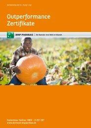 Outperformance Zertifikate - Infoboard