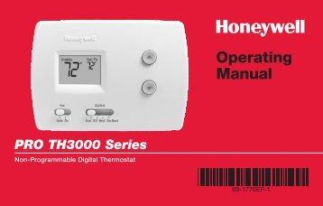 Honeywell pro 3000 wiring diagram.