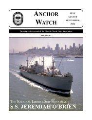 Summer 2006 HNSA Anchor Watch.qxp - Historic Naval Ships ...