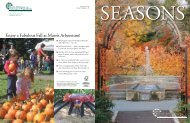 enjoy a Fabulous Fall at morris arboretum! - Business Services ...