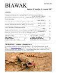 Biawak - International Varanid Interest Group - Page 3