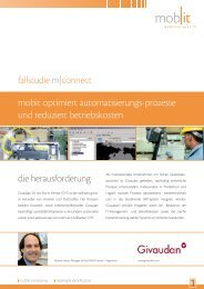 fallstudie m|connect 1 mobit optimiert automatisierungs ... - Mobit AG