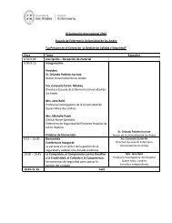 IX Seminario Internacional 2013 Escuela de Enfermería Universidad ...