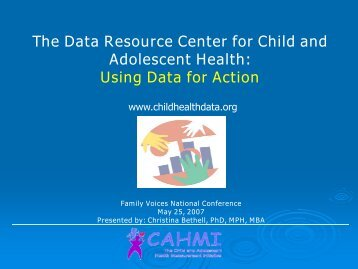 Using Data for Action - National Center for Family / Professional ...